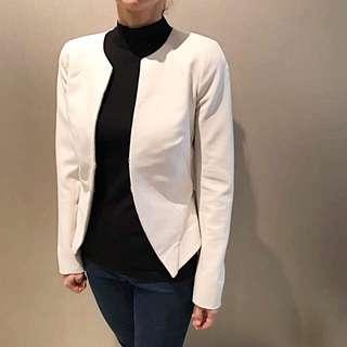 Saba Ivory Jacket Size 6