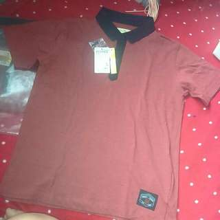 50% OFF BNWT RedTag Speckled Red Collared Shirt