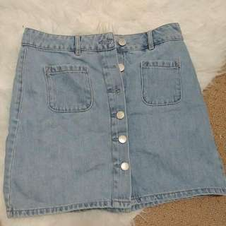 GARAGE Denim Skirt