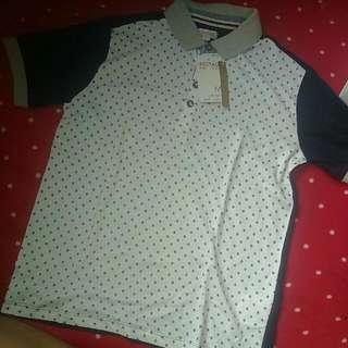 50% OFF BNWT RedTag Diamond Pattern Collared Shirt