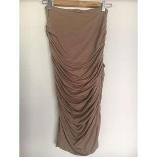 SALE Supre Luxe Basics Midi Skirt