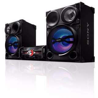 SONY DJ SHAKE HIGH POWER 2000W SOUND SYSTEM LBT-SH2000
