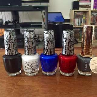 Nail Polishes (Single / Bulk)