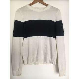 Uniqlo Stripe Cashmere Jumper