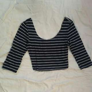 Abercrombie & Fitch Cropped top 3/4