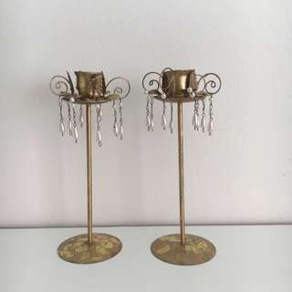 FREE Set Of 2 Candle Holders