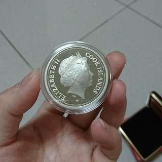 2005年天賜良雞彩色紀念幣