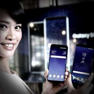 SEALED SAMSUNG S8+ MIDNIGHT BLACK (NEW)