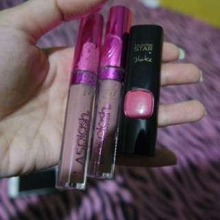 la splash dan lipstick loreal (TAKE ALL)