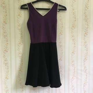 Mini Dress Purple