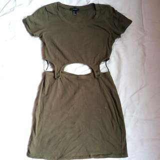 Forever 21 Army Dress