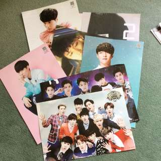 EXO And Lay Posters
