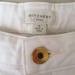 Witchery White Skinny Jeans