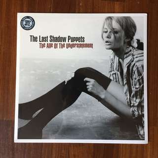 The Last Shadow Puppets, The Age of the Understatement LP/Vinyl