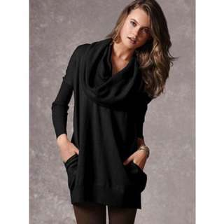 Victoria's Secret Black Multiway Sweater