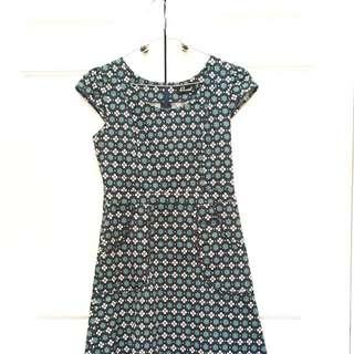 Revival Patterned Dress