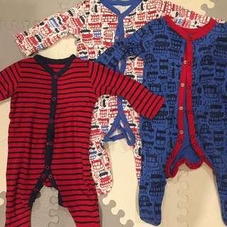 Mothercare 3-pack Pajama Bundle