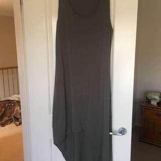 Witchery Khaki Mid Length Dress