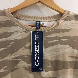 H&M Camouflage Long-sleeves