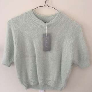 SHEIKE Crop Knit