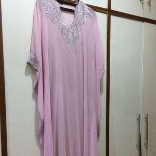 Kaftan Dusty Pink