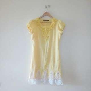 Yellow Dress - Size 12