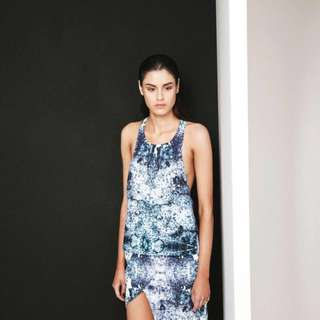 Finders Keepers On and On Top In Light Splash Print