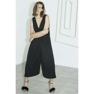 "C/MEO Cameo Collective ""Sidelines"" Black Jumpsuit"