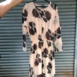 Zara Long Loose Dress