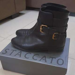 Preloved STACCATO Boot Leather