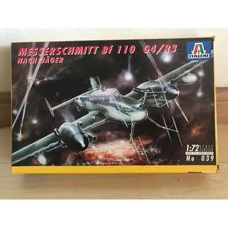 039Italeri 1/72 Messerschmitt Bf110 G44/R3 Nachtjager