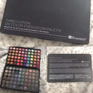 BH Cosmetics 120 Eyeshadow Palette