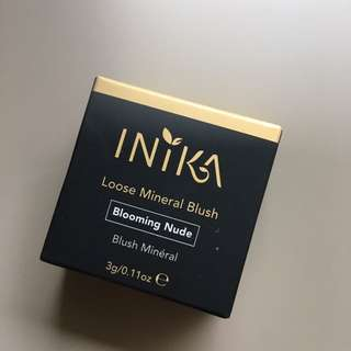 Inika Loose Mineral Blush In Blooming Nude 3g