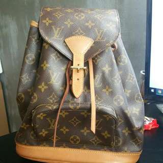 3da073f4f58 Authentic Louis Vuitton Monogram Backpack