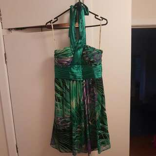 Boutique Halterneck Dress Size 10