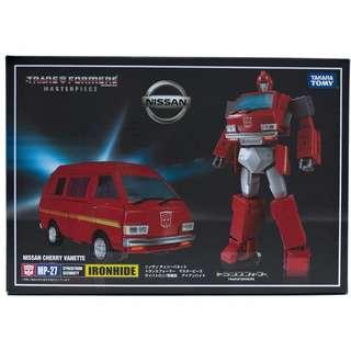Transformers MP-27 IronHide (Takara Tomy) Japan - New MISB