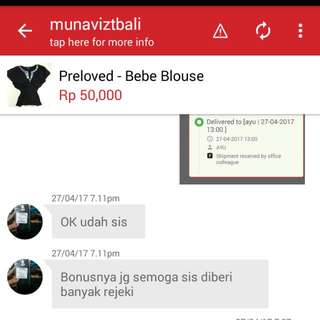 Testi From Lovely Buyer😘 - Trusted👍