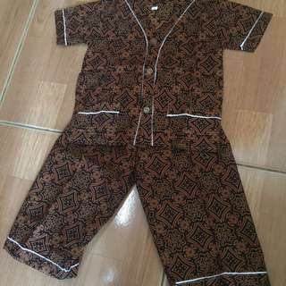 piyama batik jogja