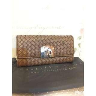Charles N Keith Brown Wallet