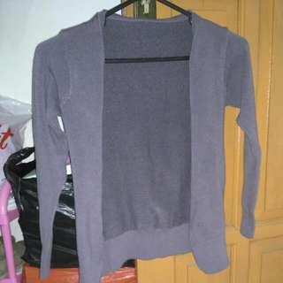 Cardigan Grey No Brand
