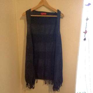 Piper Lane Casual Throw Over Vest