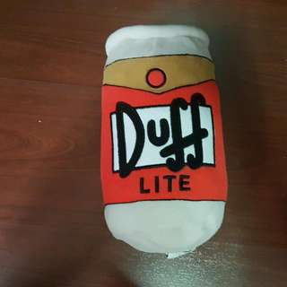 The Simpsons:Duff Beer Plushie