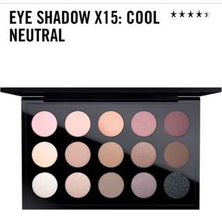 Mac Cool Neutral Eyeshadow