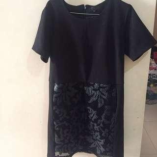 Dress Zalora Black
