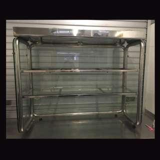 3 Tiered Glass Food Display Showcase
