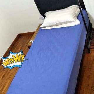 Pre-loved Single Bed Frame + Mattress