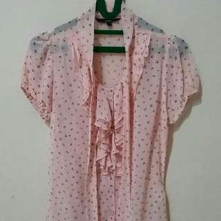 Kemeja Pink by Cole (size S)