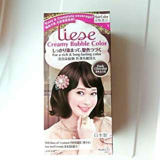 Liese Dark Chocolat Creamy Bubble Colour