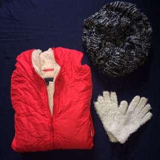 Uniqlo Hooded Cotton-Padded Jacket