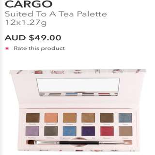 Cargo Cosmetics Suited To A Tea Palette